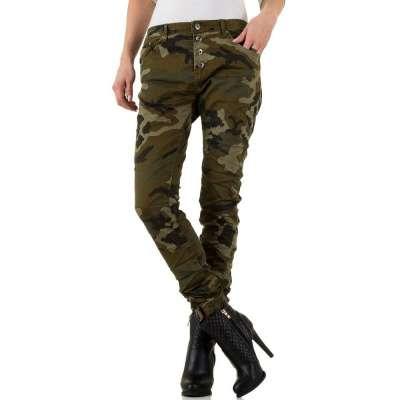 Camouflage hose damen